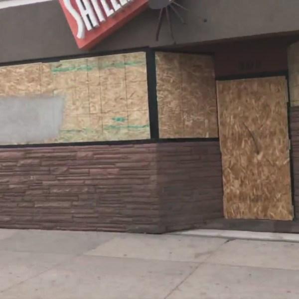 Downtown Denver looks like it's preparing for a hurricane