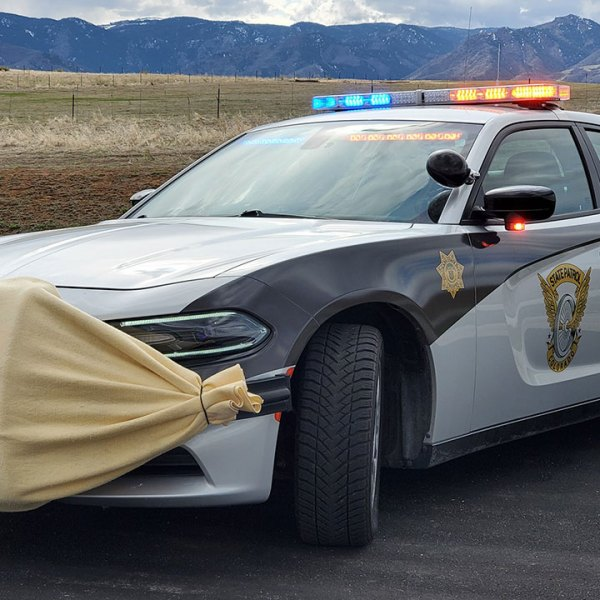 Colorado State Patrol's 2020 best looking cruiser entry.