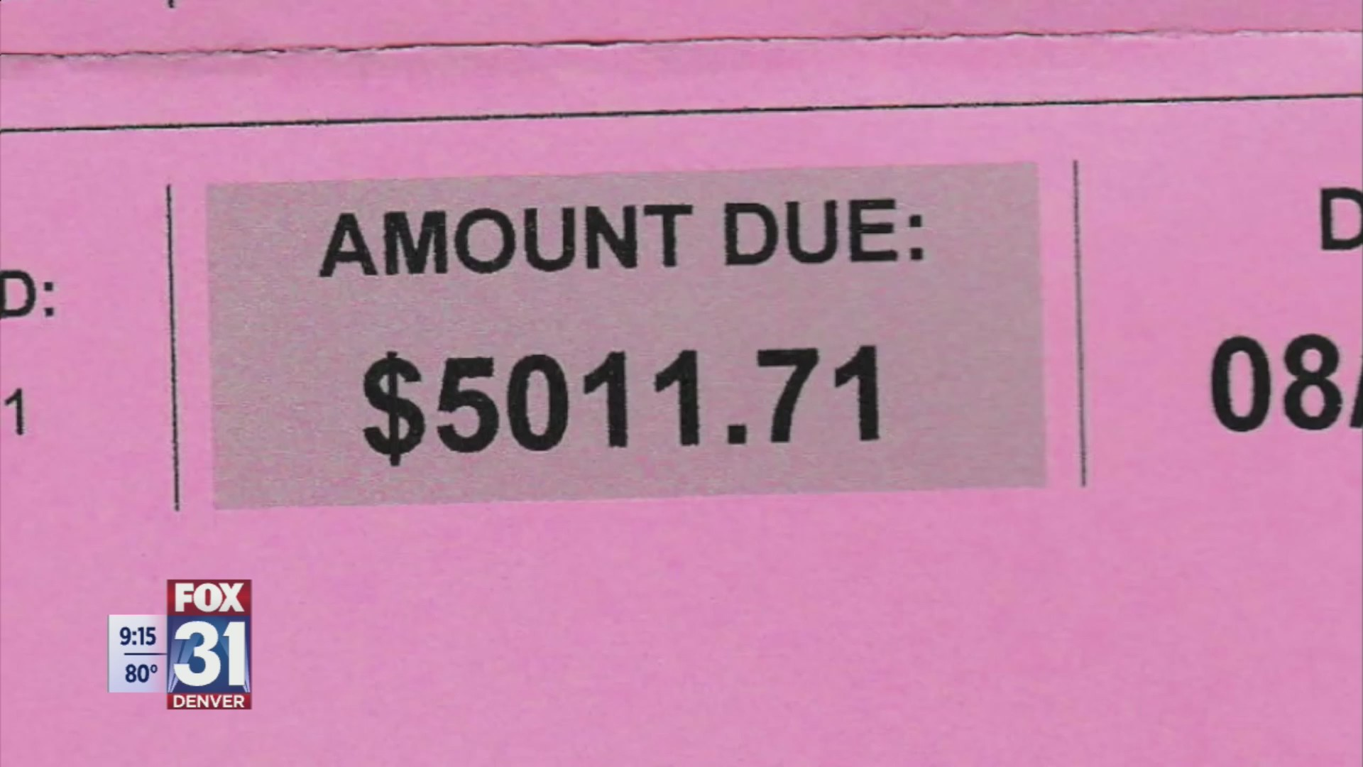 Lyft driver receives $5,000 toll bill