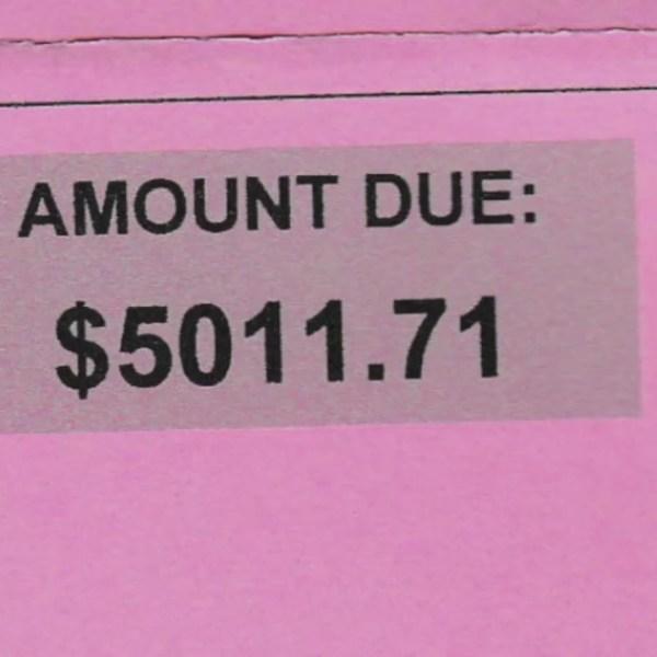 Lyft driver receives $5,000 toll bill