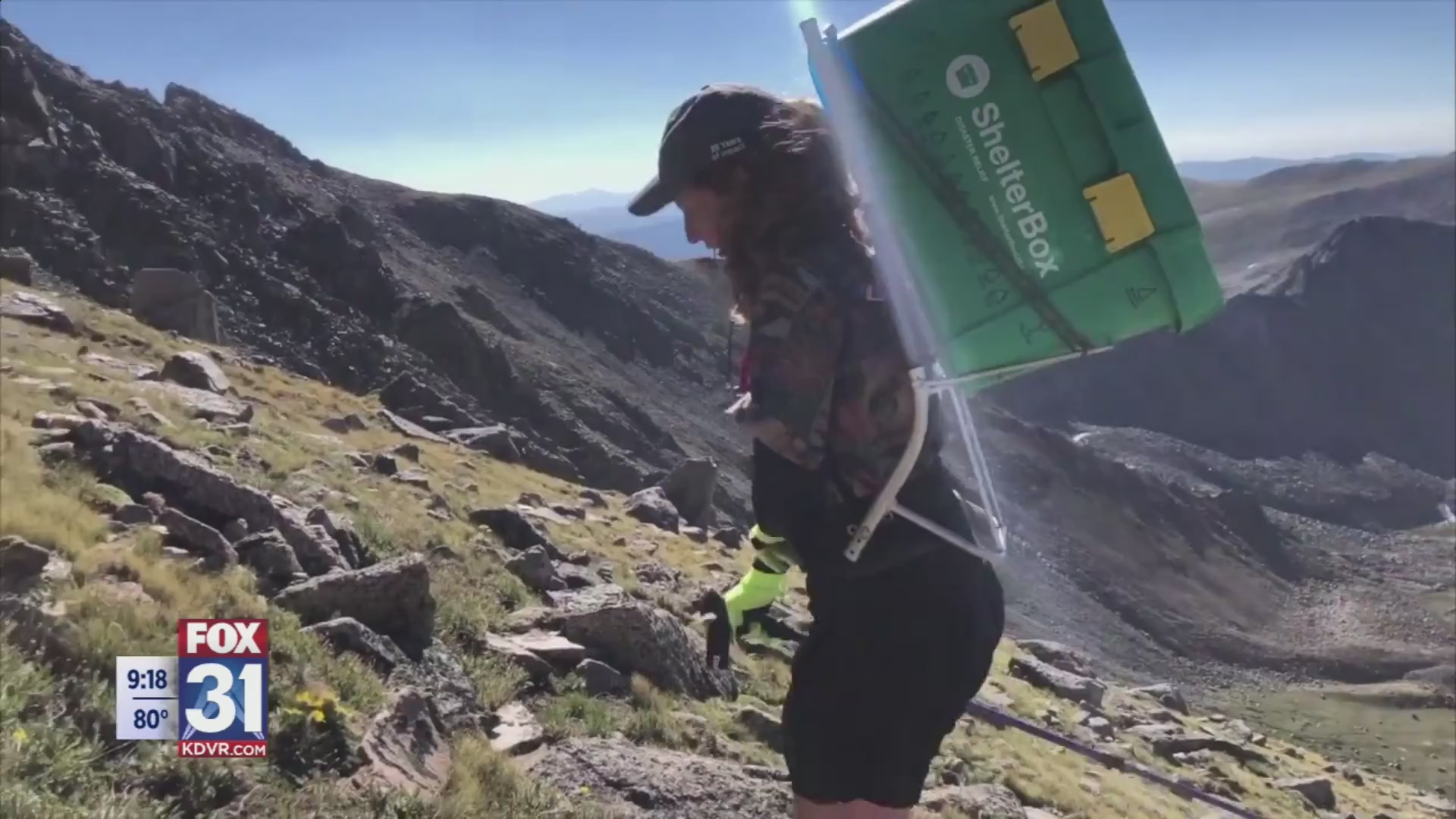 Denver Woman Climbing Every Colorado 14er To Raise Awareness for Those in Need