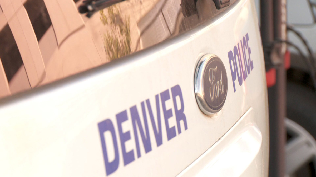 Denver Police Department vehicle
