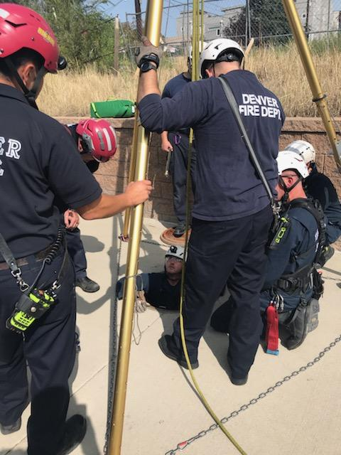 Rescue At The Perry Street Light Rail Station In Denver Fox31 Denver