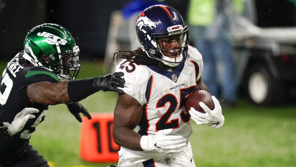 Broncos Top Winless Jets 37 28 For First Victory Of Season Fox31 Denver