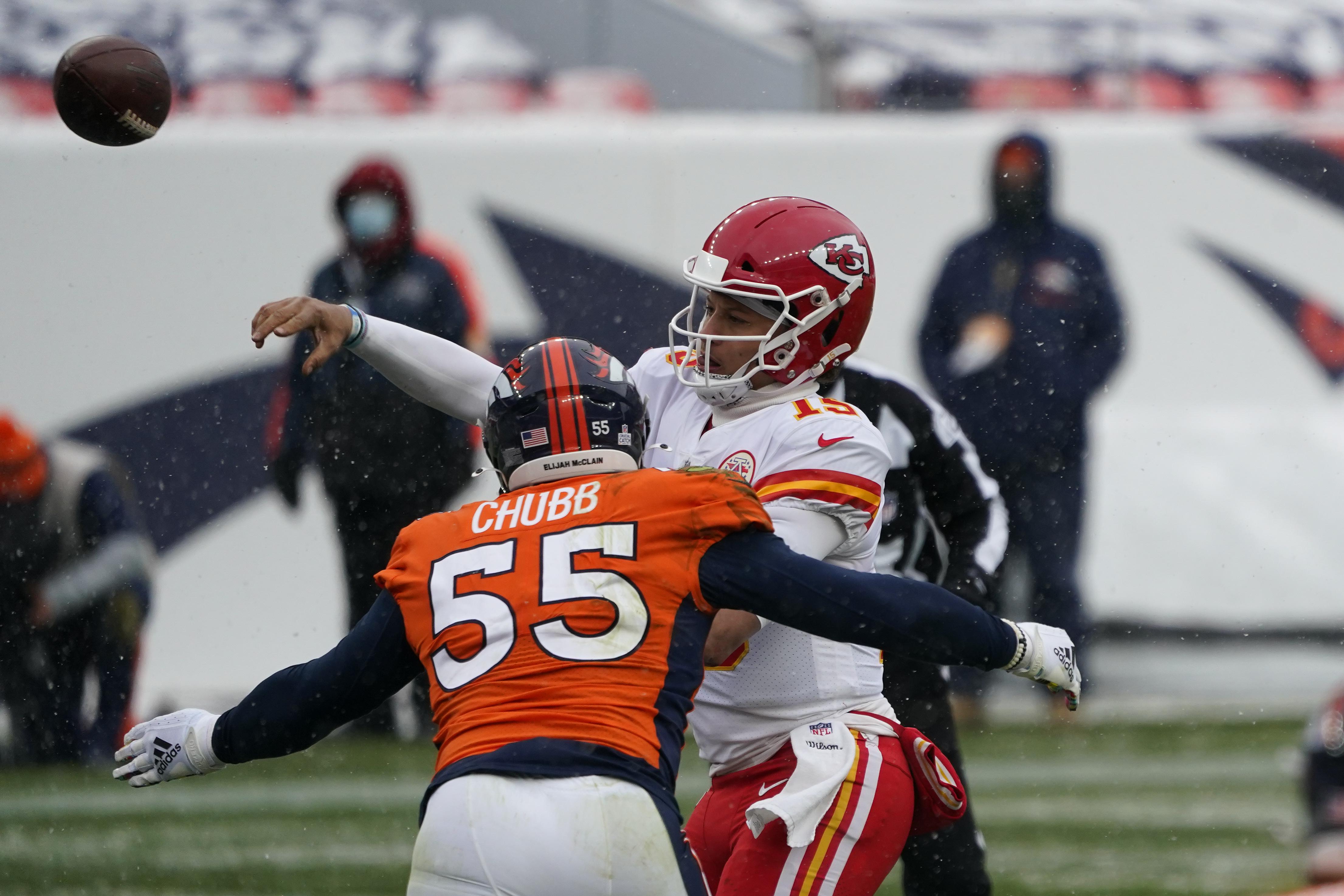 Broncos pick up Bradley Chubb's 5th-year option