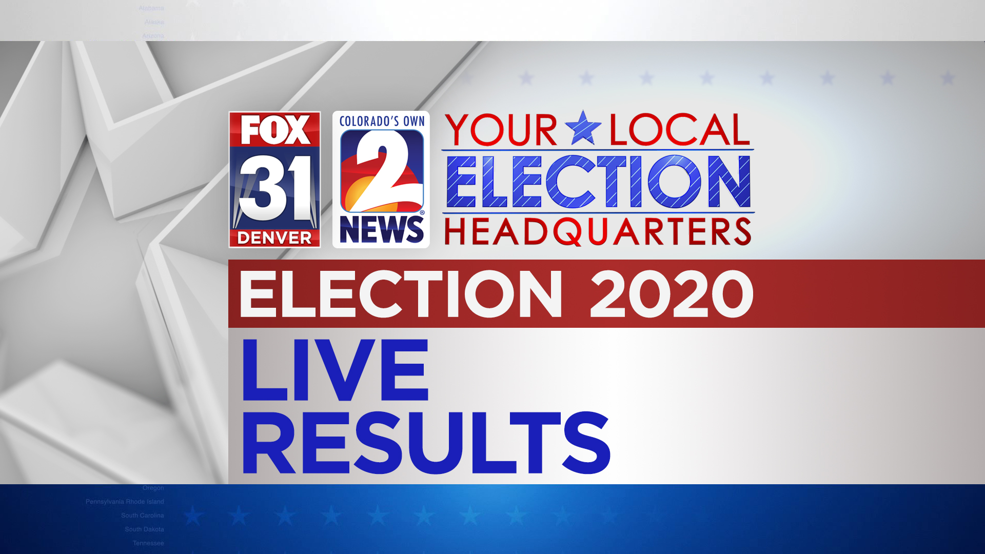 Picture of: Election 2020 Results Live Updates Fox31 Denver Colorado