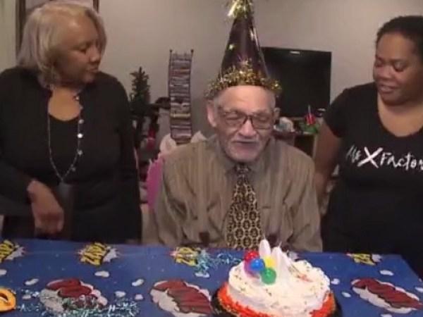 WWII vet celebrates 100th birthday