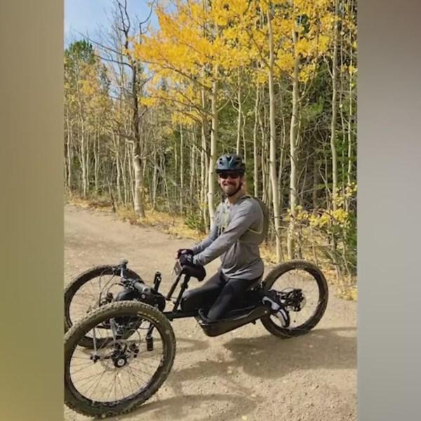 Paralyzed Denver athlete's adaptive mountain bike stolen