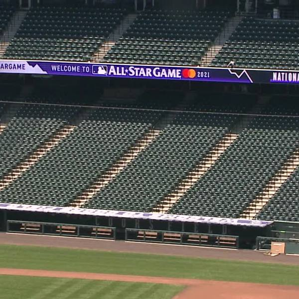 2021 All-Star Game at Coors Field