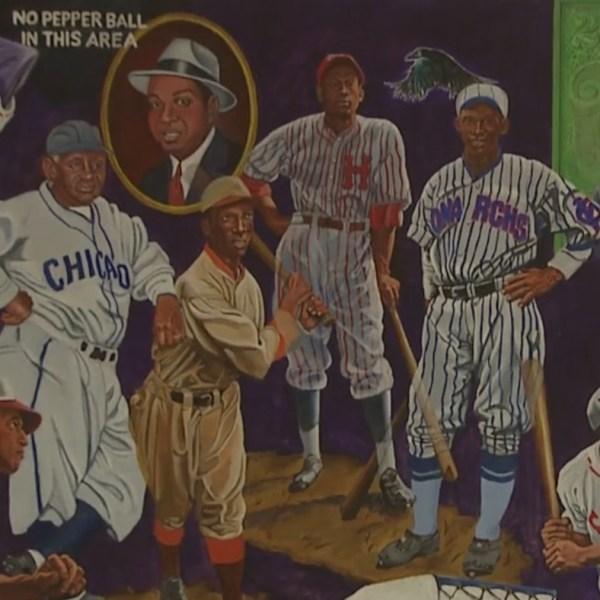 Negro Leagues art exhibit at McNichols Building