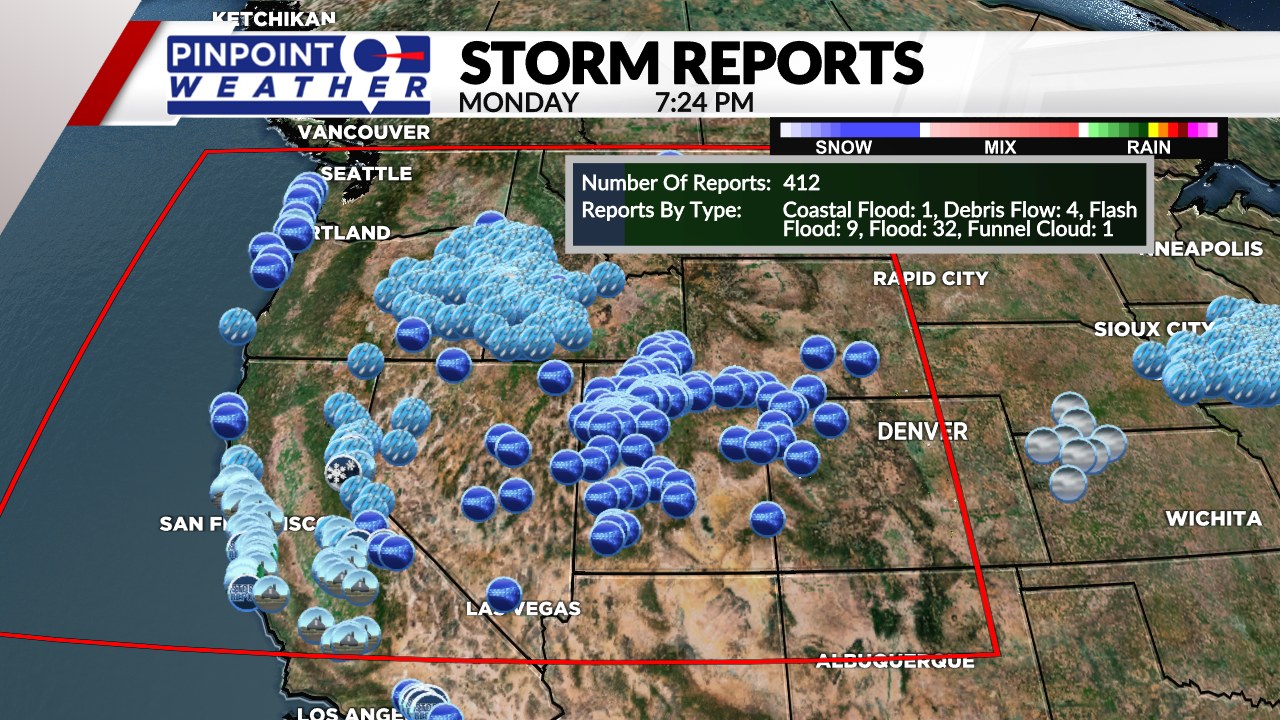 Bomb cyclone bringing flooding, mudslides to California to impact Colorado Tuesday - FOX 31 Denver : A strong, record-breaking storm system has impacted most of the western U.S. over the past 48 hours. This same storm system will move into Colorado on Tuesday bringing mountain snow, gusty winds and cooler temperatures.  | Tranquility 國際社群